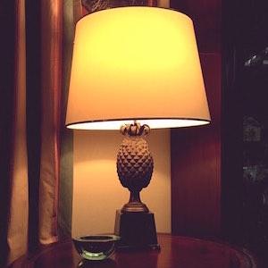 Ananas Lampe Antik