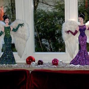 Engel Damen Weihnachten Deko