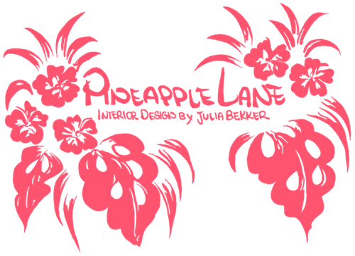 Pineapple Lane Interior Design by Julia Bekker Logo