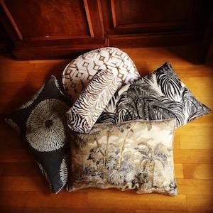 Maßanfertigung Indoor Kissen Set Afrika
