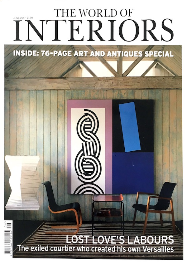 Presse World Of Interiors Juni Ausgabe Cover