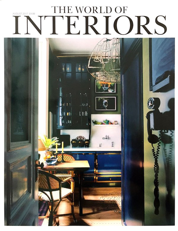 Presse World Of Interiors August Ausgabe Cover